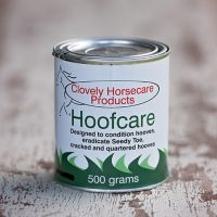 500g tin of Clovely Horsecare Products Hoofcare
