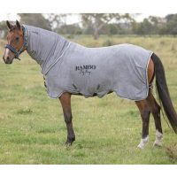 Grey micro fibre toweling quick dry rug - the Rambo Dry Rug