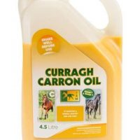4L bottle of Curragh Carron Oil nutritional supplement