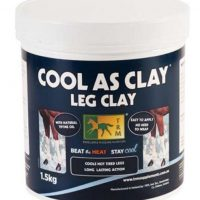 A 1.5kg tub of Cool as Clay Leg Clay