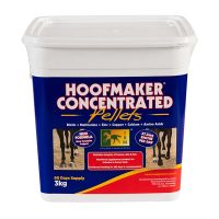 3kg tub of Hoofmaker Concentrated Pellets for healthy hooves